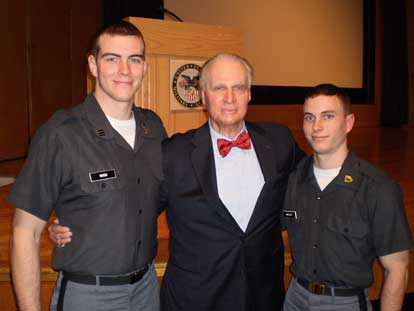 Picture of George at West Point